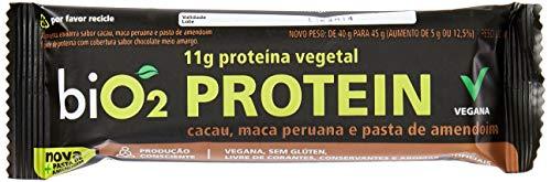 Protein Bar Cacau e Maca Peruana Bio2 12 Unidades de 40g