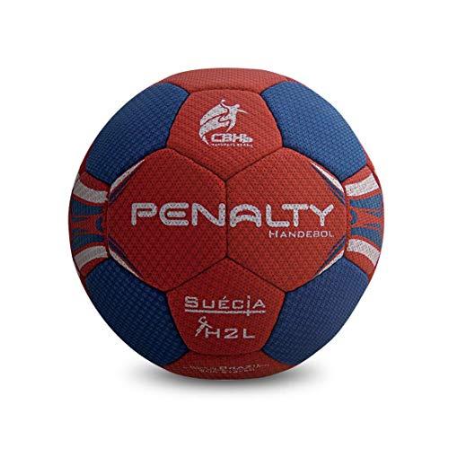 Bola de Handebol, Penalty, H2L, Suécia, Vermelha e Azul