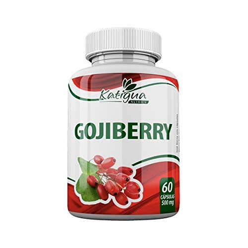 Goji Berry 60 Cápsulas de 500mg, Katiguá