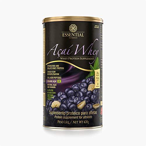 Açaí Whey 420G Essential Nutrition Lata 420G