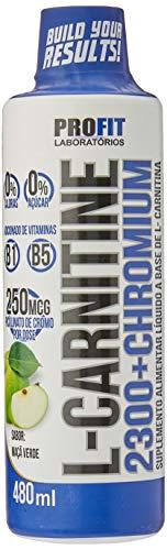 L-Carnitine 2300 e Chromium Maçã Verde 480Ml, Profit