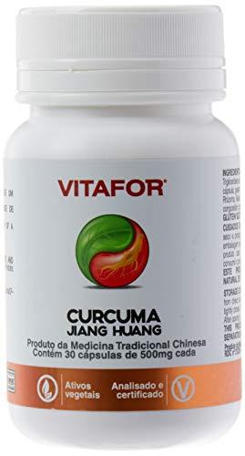 Curcuma Jiang Huang - 30 Cápsulas 500mg - Vitafor, Vitafor