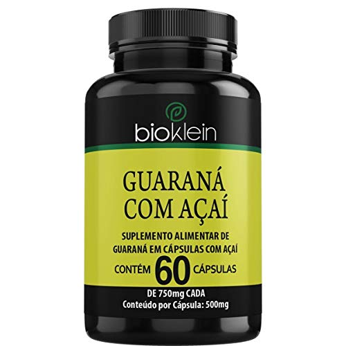 Guaraná com Açaí - 60 Cápsulas - Bioklein, Bioklein