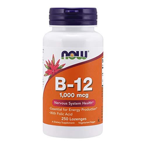 Vitamina B-12 1000mcg (250 Caps) Now Foods
