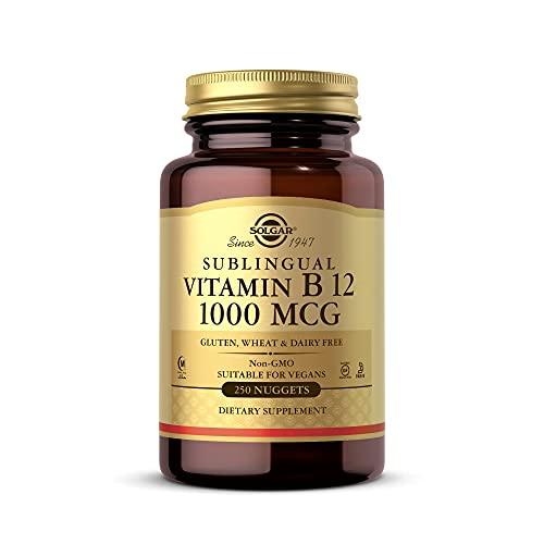 Solgar - Vitamina B12 Sublingual 1000 mcg. - 250 Comprimido (s)
