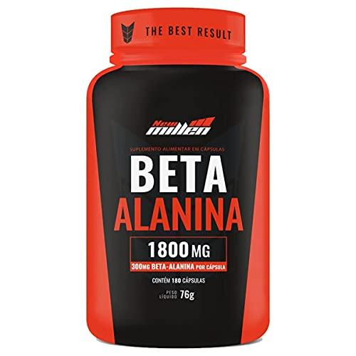Beta Alanina 1800mg - 180 Cápsulas - New Millen, New Millen