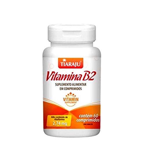 Vitamina B2 Tiaraju 60 Comprimidos De 250mg