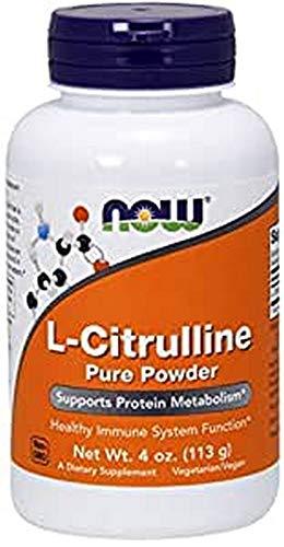 L-Citrulline Pure Powder Now Foods 113 g em pó