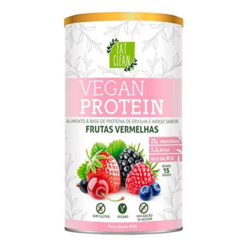 Vegan Protein Frutas Vermelhas Eat Clelan Lata 450g