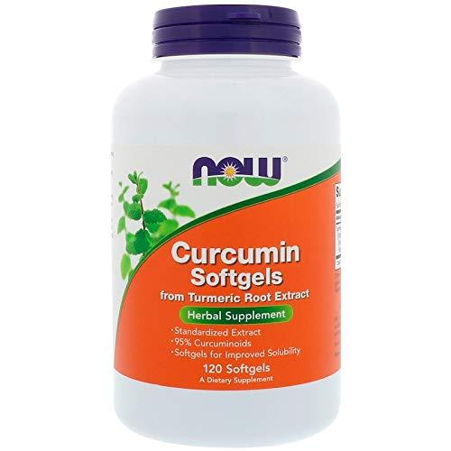 Cúrcuma Longa Curcumin Turmeric 475mg (120SGels) Now Foods