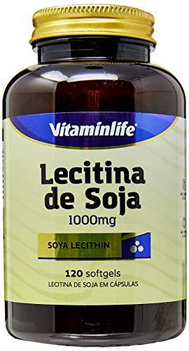 Lecitina de Soja 1000 Mg Isoflavonas, Vitaminlife, 120 Cápsulas