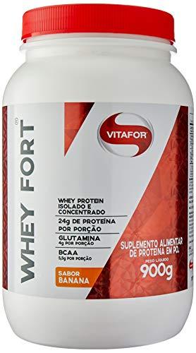 Whey Fort - 900G Banana - Vitafor, Vitafor
