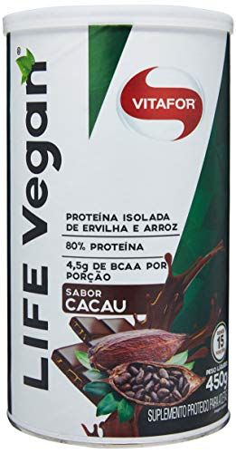 Life Vegan Cacau, Vitafor, 450G