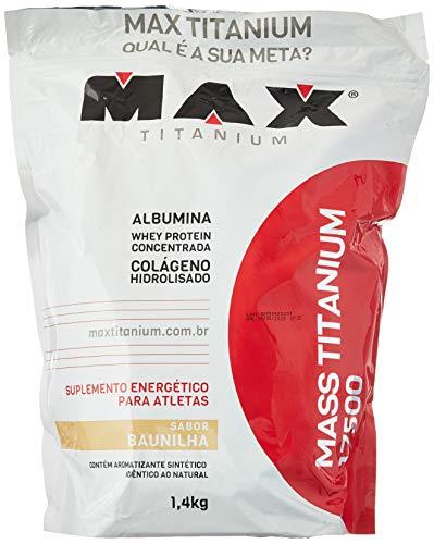 Mass Titanium 17500 - 1400 G Refil Baunilha, Max Titanium