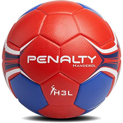 Bola De Handebol Hand Grip H3L Penalty 60 Cm Vermelho