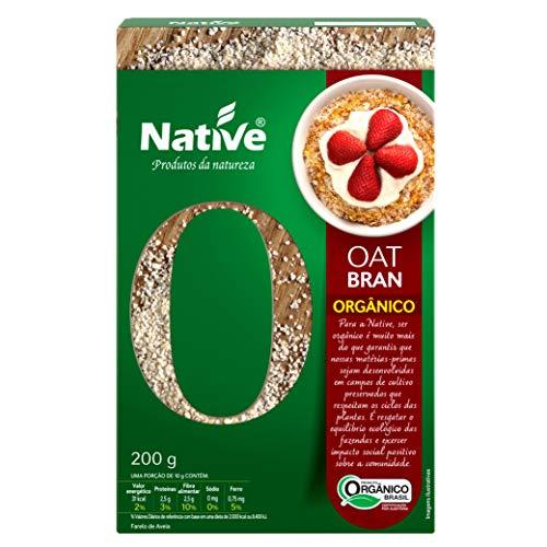 Oat Bran (Farelo de Aveia) Orgânico Native 200g