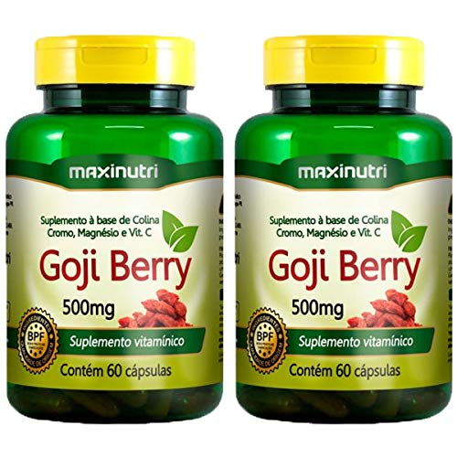 Goji Berry - 2 unidades de 60 cápsulas - Maxinutri