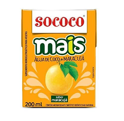Água de Coco Mais Maracujá 200ml - Sococo