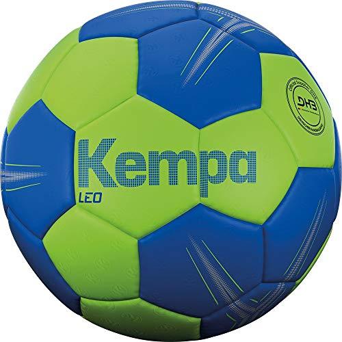Bola Handebol Kempa Leo - Tam. 2 - Verde/Azul - Pu Kempa Azul